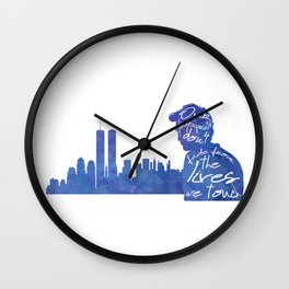 Remember me - Robert Pattinson Wall Clock