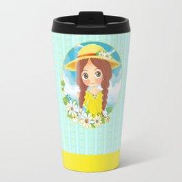 Lovely Summer Travel Mug