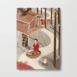 Forest Dweller Metal Print