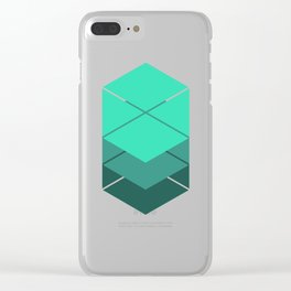 Titan's Glyph Clear iPhone Case