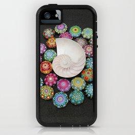 Mandala Stones iPhone Case