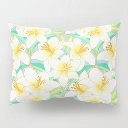 Gilding the Lilies - bright Pillow Sham