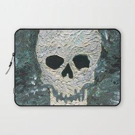 Large Skull Painting Laptop Sleeve