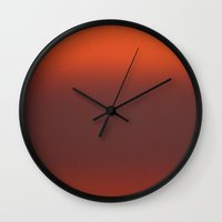 rothko Wall Clocks featuring Rothko Sky by Marko Köppe