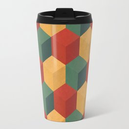 Retro Cubic Travel Mug
