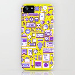 """""""Childhood Memories"""" pixel art poster iPhone Case"""