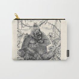 Koko Love Graphite Drawing Carry-All Pouch