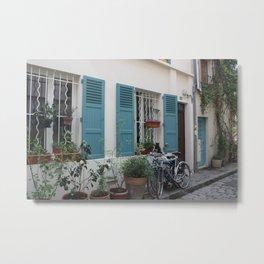 Rue des Thermopyles Paris, France Metal Print