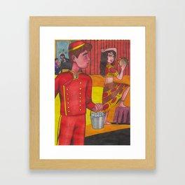 Room 29 Framed Art Print