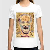 bukowski T-shirts featuring Charles Bukowski by Kori Levy illustration & design