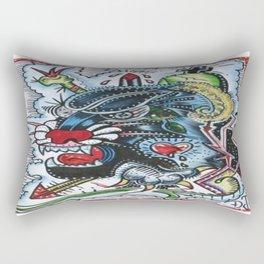 FREAK OUT Rectangular Pillow