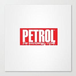 Petrol Canvas Print