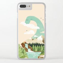 Lake monster - Bon Nûl Clear iPhone Case