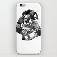 vader iPhone & iPod Skins featuring Vader by DanielBergerDesign