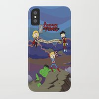 avenger iPhone & iPod Cases featuring Avenger Time! by Det Guiamoy