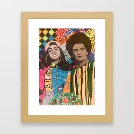 Drippin' in Finesse Framed Art Print