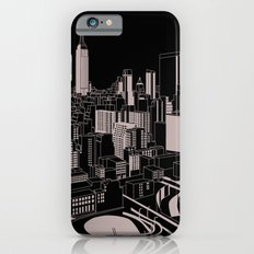 New York Black and White iPhone 6s Slim Case