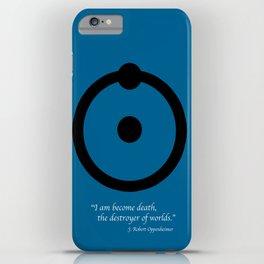 Dr, Manhattan iPhone Case