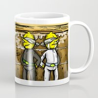 lemongrab Mugs featuring Gingerbread Execution - Lemongrabs by BlacksSideshow