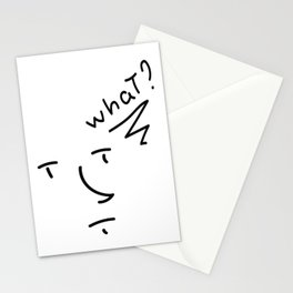 Wut? Stationery Cards