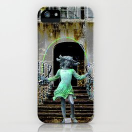 Ghost in a Madeira Mansion. iPhone Case