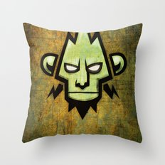 dnb flyer Throw Pillow