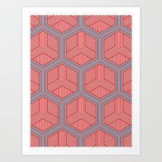 Hexagon No. 2 Art Print