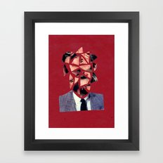 cutface Framed Art Print