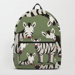 Zebra, Animal Portrait Backpack