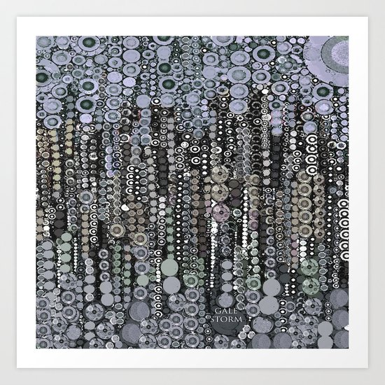 :: Shades of Gray :: Art Print