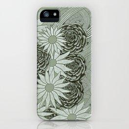 Flowerlines iPhone Case