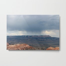 Thunderstorm coming over Bryce Canyon Metal Print
