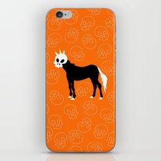 Skullhead Unicorn iPhone & iPod Skin