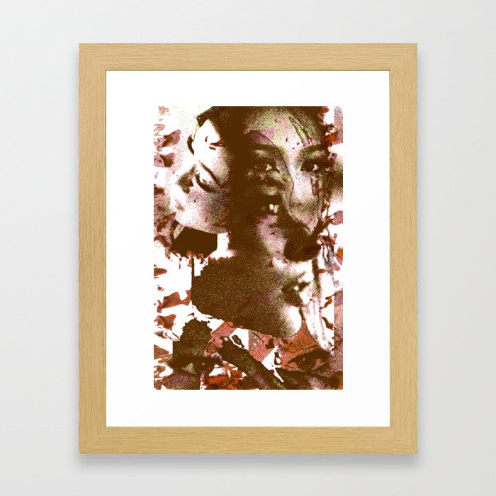 Thai Girl Framed Art Print