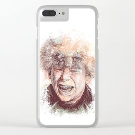 Scut Farkus Clear iPhone Case