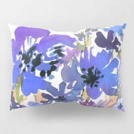 Heavenly Blues and Purples Pillow Sham