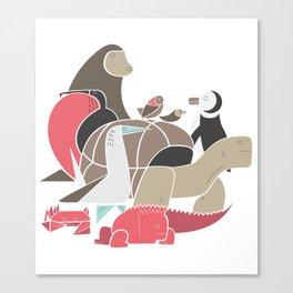 Galapagos Canvas Print