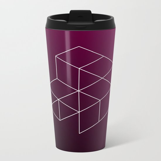 Geometry Metal Travel Mug