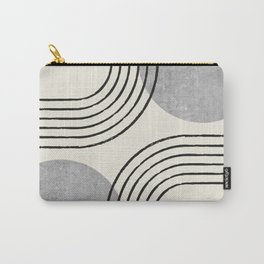 Sun Arch Double - Grey Carry-All Pouch