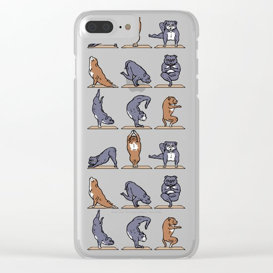 American Pit Bull Terrier Clear iPhone Case