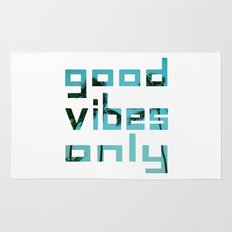 good vibes only // Punta Cana Rug