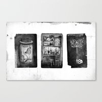 alchemy Canvas Prints featuring Alchemy by Mutt Ink