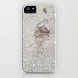 Footprint iPhone Case