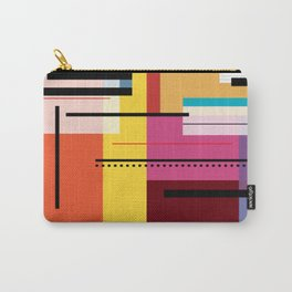 Parallels  lines and colours Carry-All Pouch