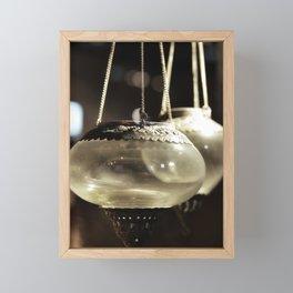 Don't lose focus Framed Mini Art Print