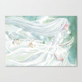 Enchantress Winter Canvas Print