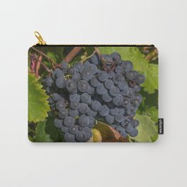 Vineyard Grape Clusters Carry-All Pouch
