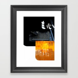 ROUGHCut#10292015 Framed Art Print