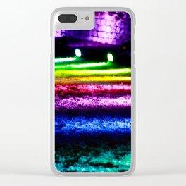 True colours Clear iPhone Case