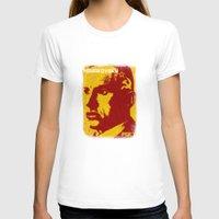 soviet T-shirts featuring Mayakovsky, Soviet Poet by Adam Metzner